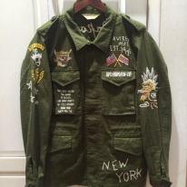 EMBROIDERY M-43 JACKET
