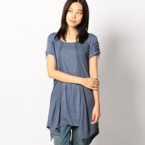 TURN BACK RIB COMBI TUNIC